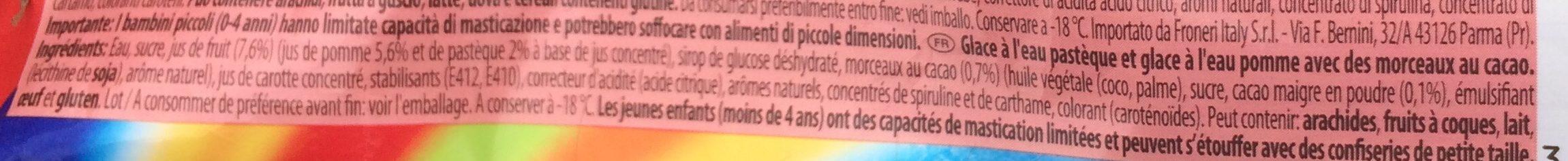Pirulo Watermelon - Ingrediënten