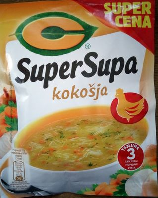 C SuperSupa kokošja - Product - sr