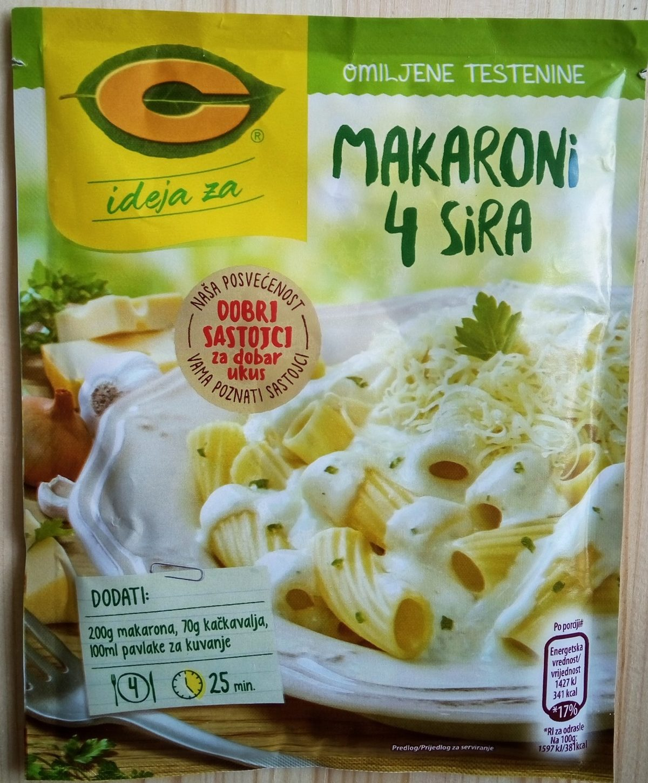 C ideja za Makaroni 4 sira - Product - sr
