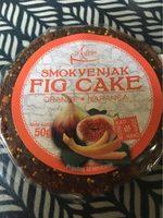 cake de figue - Product