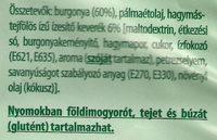 Chips, hagymás-tejfölös ízű - Ingredients - hu