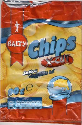 Chips X-Cut, sajtos-tejfölös ízű - Product - hu