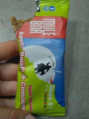 Barre énergétique Pomme Raisins Cannelle - Product - fr