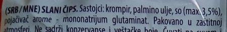 Classic - Ingredients - sr