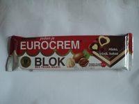 Eurocrem Tabletă de cacao cu lapte - Produit