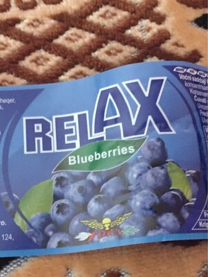 Relax blueberries - Product - fr