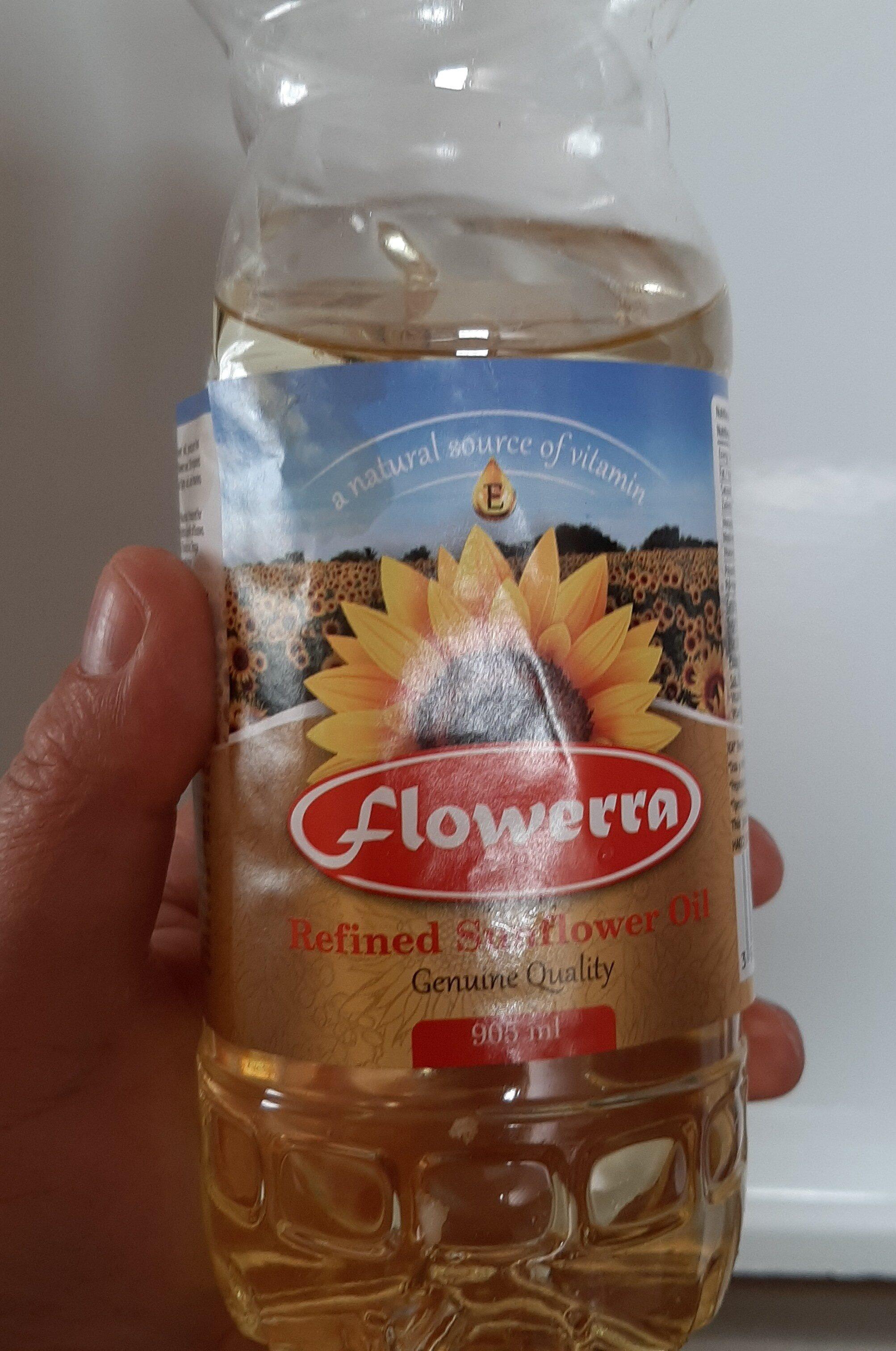 Refined Sunflower Oil - Ingrédients - en
