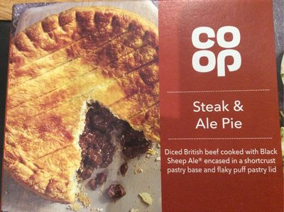Steak & Ale Pie - Product - fr