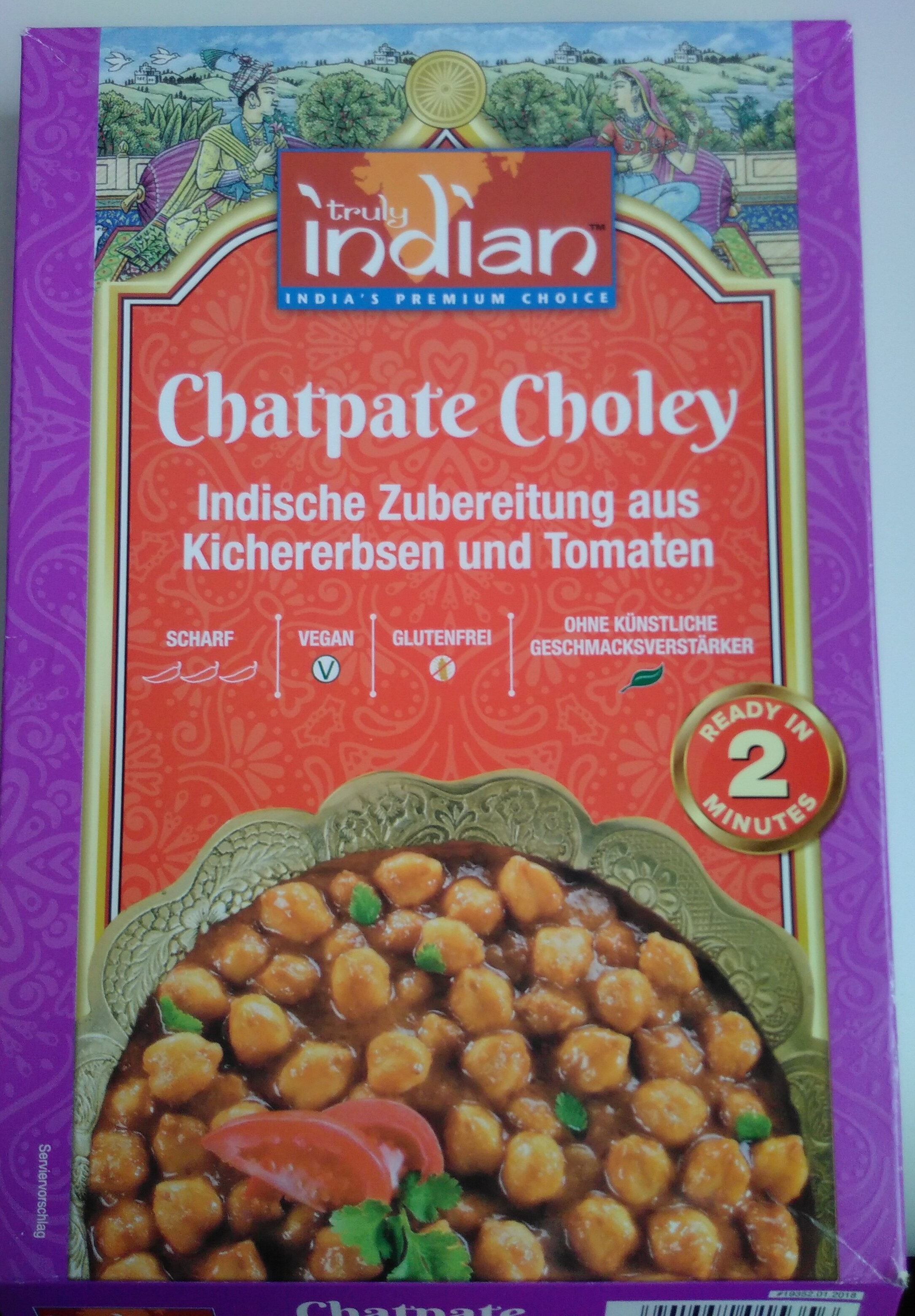 Chatpate Choley - Product
