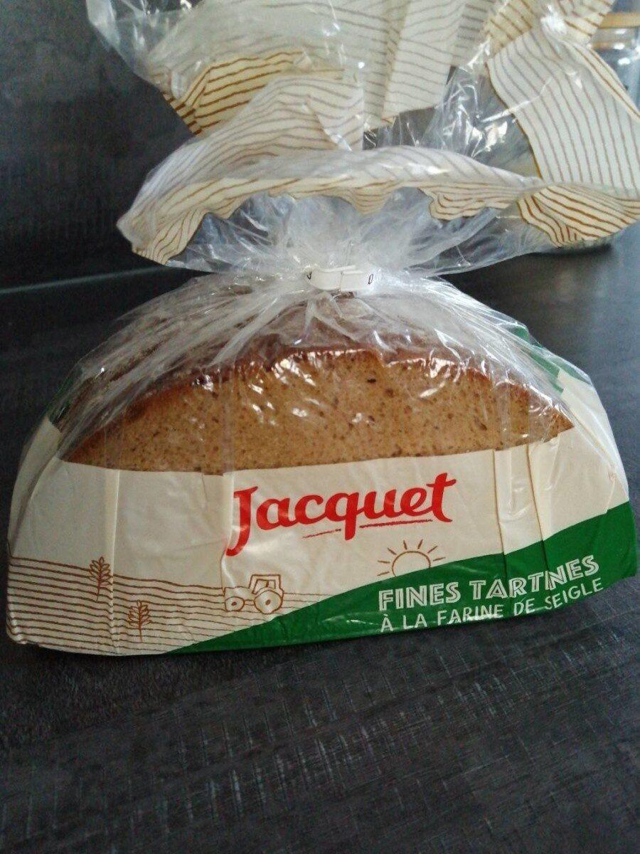 Fines tartines à la farine de seigle - Product