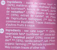 Chokodomi Bio Kazidomi - Ingrediënten - fr