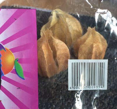 Physalis, Amour en cage - Ingredients - fr