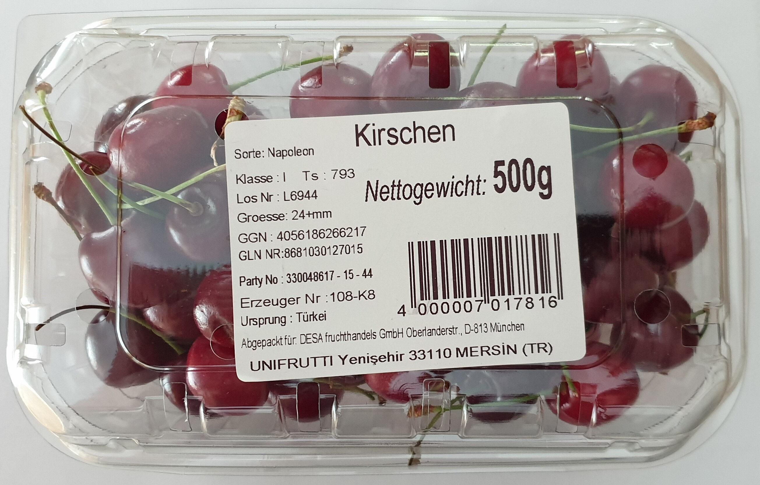 Kirschen, Sorte: Napoleon - Product - de