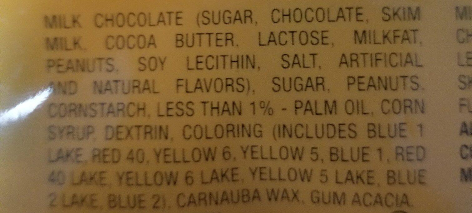 mandm - Ingredients
