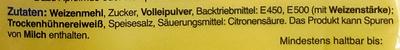 Kaiserschmarrn - Inhaltsstoffe