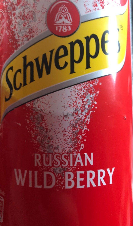 Schweppes, Russian Wild Berry - Produit - fr