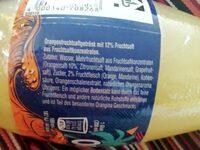 Orangina summer edition - Ingredients - en