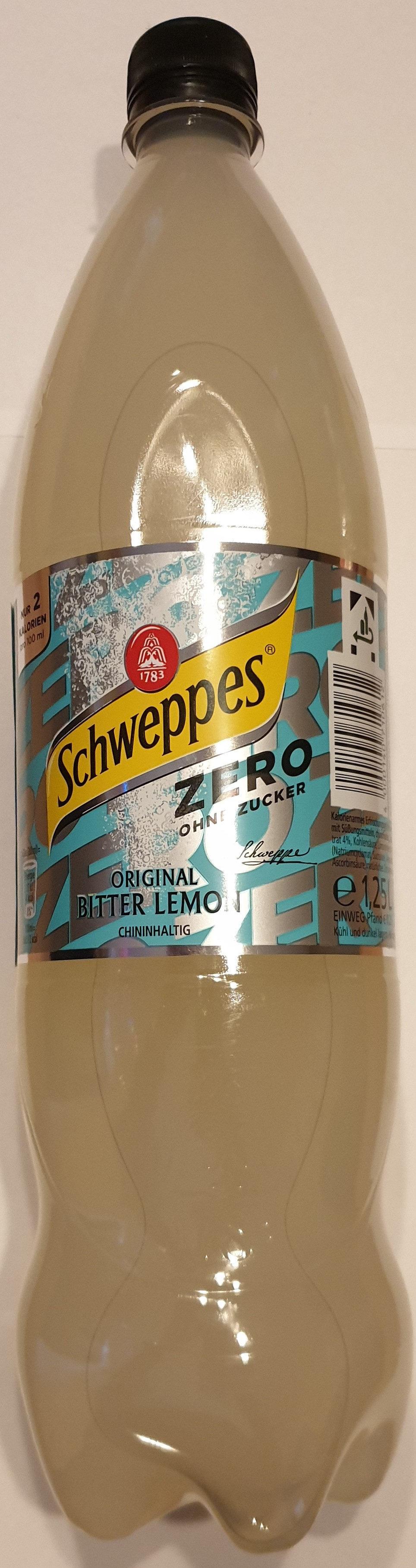 Bitter lemon zero - Produit - de