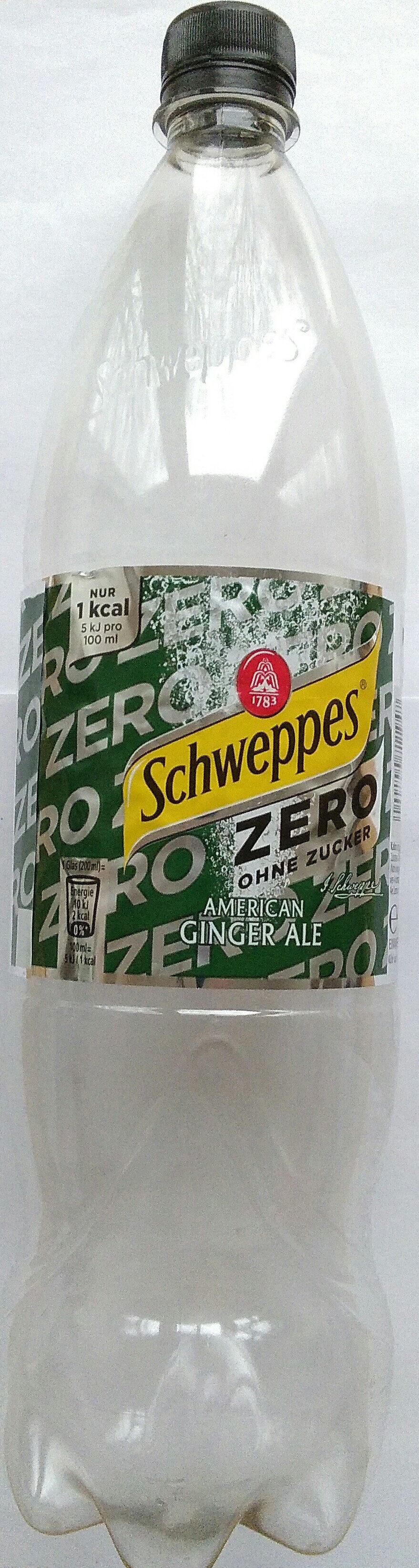 American Ginger Ale Zero - Produit - de