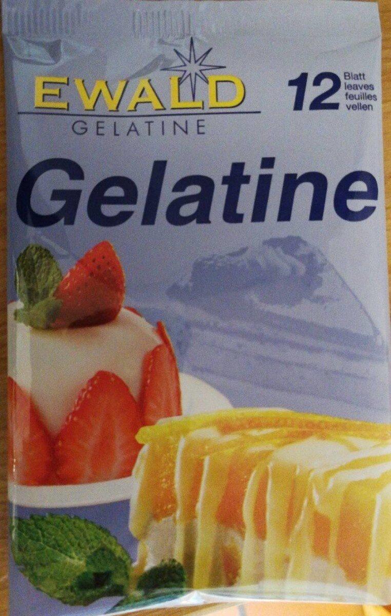 Gélatine - Product - en