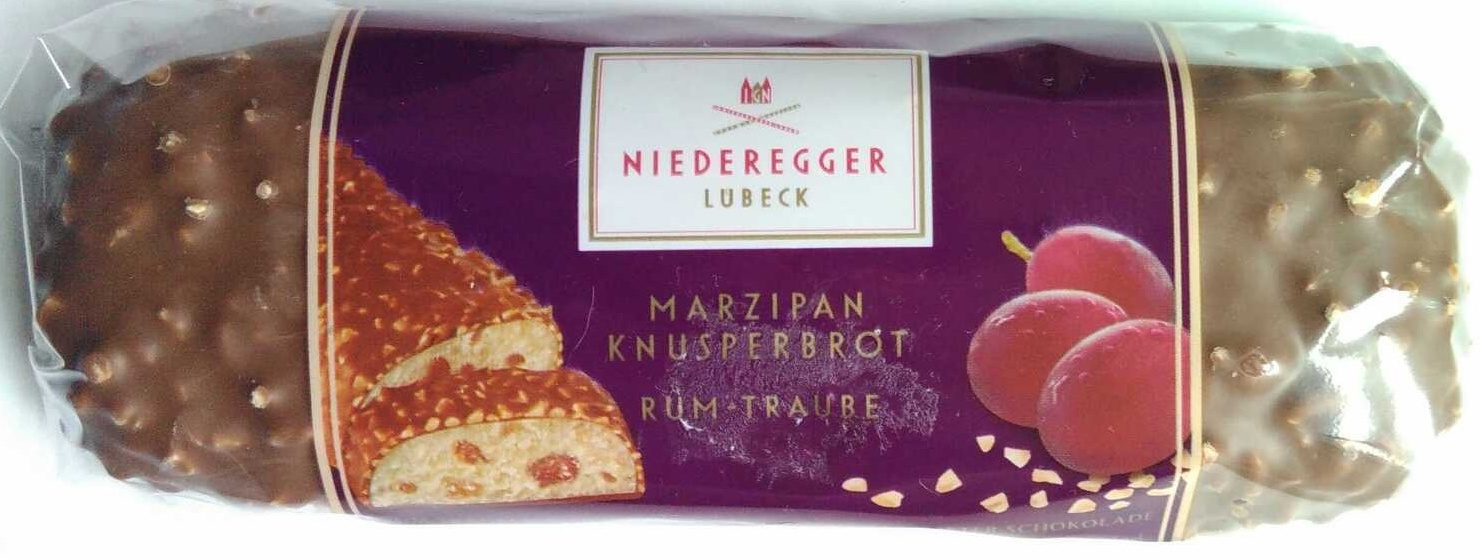Marzipan Knusperbrot Rum-Traube - Produit