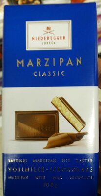 Marzipan with milk chocolate - Product - en