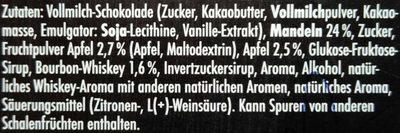 Männersache Apple Bourbon - Inhaltsstoffe