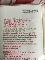 Niederegger Marzipan Klassiker 300G - Ingrediënten - fr