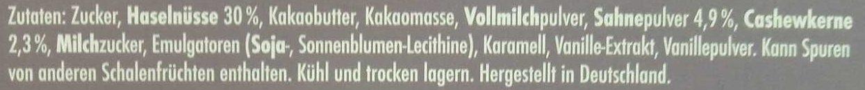 Nougaterie - Ingrediënten - de