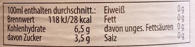 Helles alkoholfrei - Nutrition facts