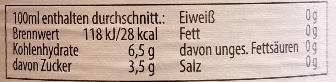 Helles alkoholfrei - Nutrition facts - de