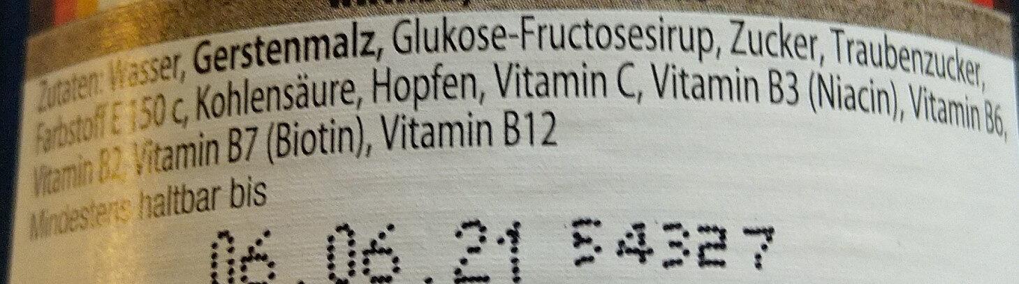 Original Bayerisch Malz - Zutaten - de