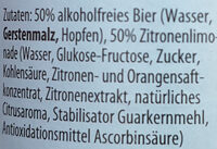 Natur alkoholfrei - Ingredients - de