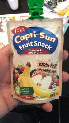 Capri-Sun Fruit Snack Banana & Red Fruits - Prodotto - en