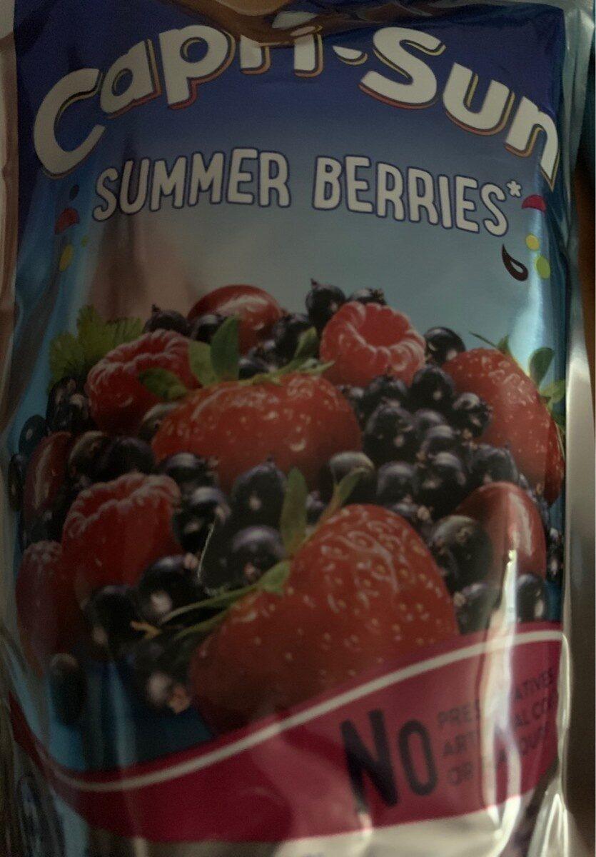 Capri-Sun Summer Berries - Prodotto - es