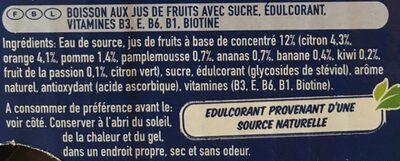 Capri-sun multi vitamin - Ingrediënten - fr