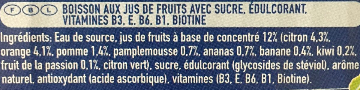 Capri-Sun Multi Vitamin - Ingredients