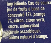 Capri-Sun Orange - Ingredienti - fr