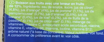 Multi Vitamin x - Ingredients