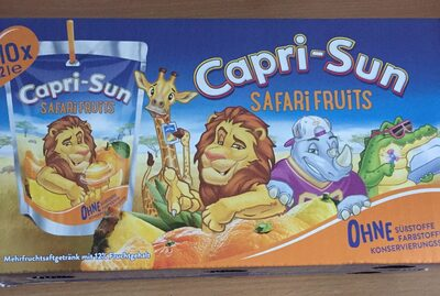 Capri-sonne Safari Fruits 20 Cl, 10 Sachets - Product