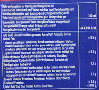 Capri-Sun Kirsche - Nutrition facts - de