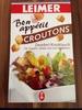 Croutons Zwiebel-Knoblauh - Produit