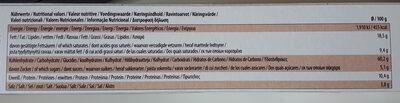 Croutons Zwiebel-Knoblauh - Informations nutritionnelles - de
