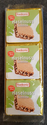 Haselnuss Schnitte - Laktosefrei - Produit - fr