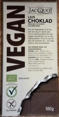 Jacquot Ljus Choklad - Product