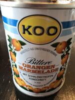 Koo bittere Orangen Marmelade - Produkt - de
