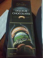 Liquer chocolates - Nutrition facts