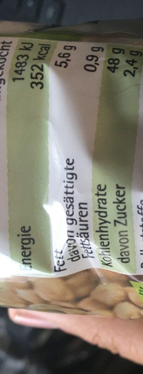 Kicher Erbsen - Ingredients - de