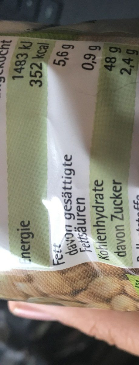 Kicher Erbsen - Ingrédients - fr