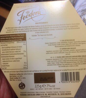 Edel Bitterschokolade - Produkt - de